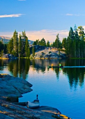 6 lakes to canoe in northern california