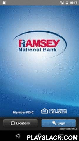 Ramsey Mobile Banking  Android App - playslack.com ,  Ramsey National Bank's Mobile Banking app enables customers to access their accounts on the go. Use our Mobile app to:* Check account balances* View account transactions* Transfer funds between accounts* Pay BillsYou must be a Ramsey National Bank Online Banking customer to use this app. To enroll in Online Banking, go to www.ramseybank.com or visit one of our bank locations.