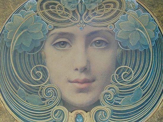 pretty: Art Nouveau Antiques, Art Nouveau Deco, New Inspiration, Art Deco Paintings, Art New Design, Charles Rennie Mackintosh, Art Nouveau Art