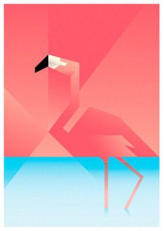 Martin Schwartz - Flamingo