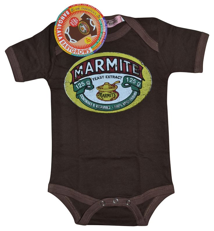 Baby Grow - Marmite - Chocolate - Gift Ideas | Bigblue Online Shopping