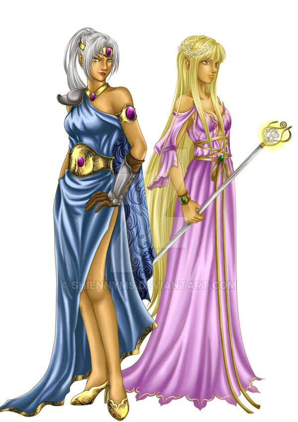 Ther Melian: Female Elves by shiennyms on @DeviantArt