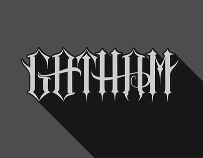 "Check out new work on my @Behance portfolio: """"Gotham"" Inkscape Lettering"" http://be.net/gallery/52432347/Gotham-Inkscape-Lettering"