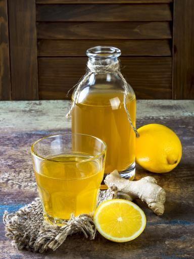 Jus de citron au gingembre : Recette de Jus de citron au gingembre - Marmiton