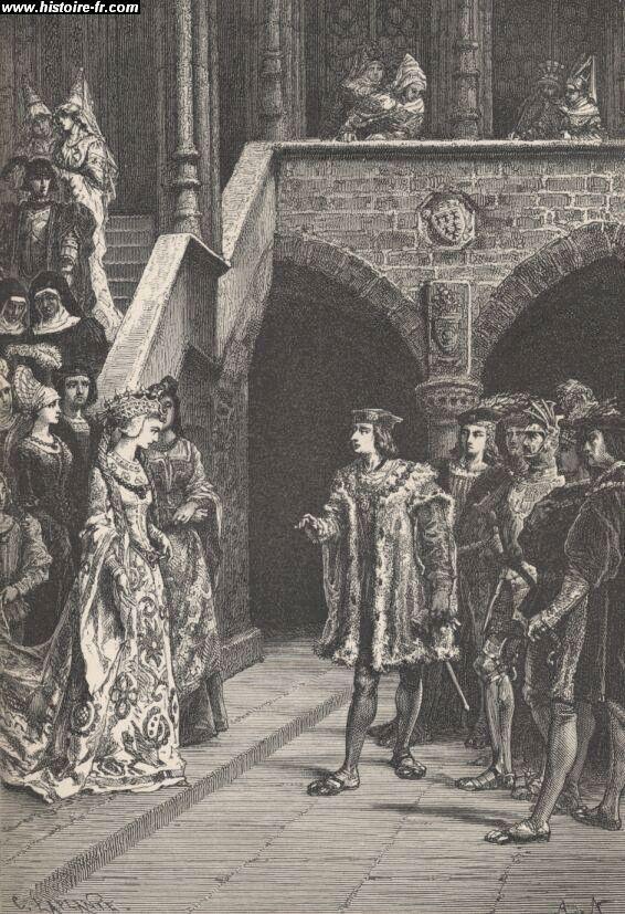 Charles et 8 et Anne de Bretagne