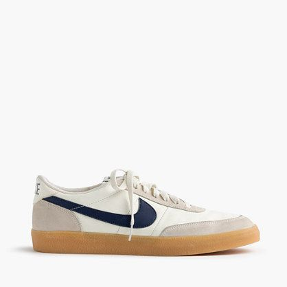 Introduced some 30 years ago, the original Killshot rolled out as low-profile tennis shoes. To give it our own spin, we updated the upper with sleek leather and suede and cast it in exclusive colors for some serious one-of-a-kind appeal. <ul><li>Leather, suede upper.</li><li>Cotton laces.</li><li>Padded footbed.</li><li>Natural gum rubber sole.</li><li>Import.</li></ul>