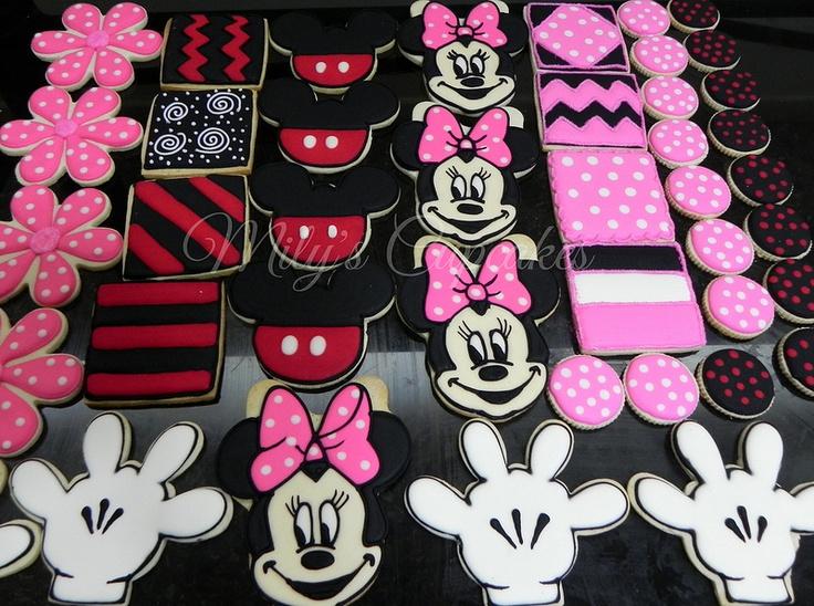 Mickey and Minnie para Sofia y Raffaella | Flickr - Photo Sharing!