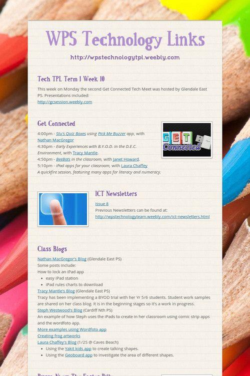 WPS Technology Links