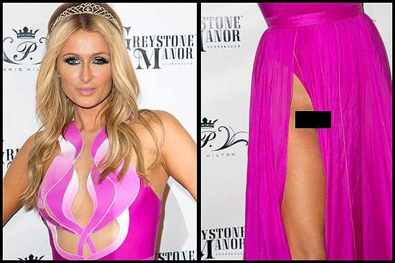 Paris Hilton suffers terrible wardrobe malfunction (see pics)