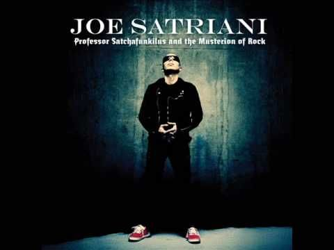"Song from new Joe Satriani's album ""Professor Satchafunkilus and the Musterion of Rock"""