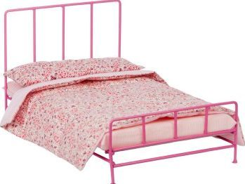 Barrutoys liberty bed `One size Fabrics : Metal, Fabric Details : 1 Bed, 1 mattress, 1 bed linen set Length : 26,5 cm, Width : 44,5 cm, Height : 24 cm. Age : From 3 years old http://www.comparestoreprices.co.uk/january-2017-7/barrutoys-liberty-bed-one-size.asp