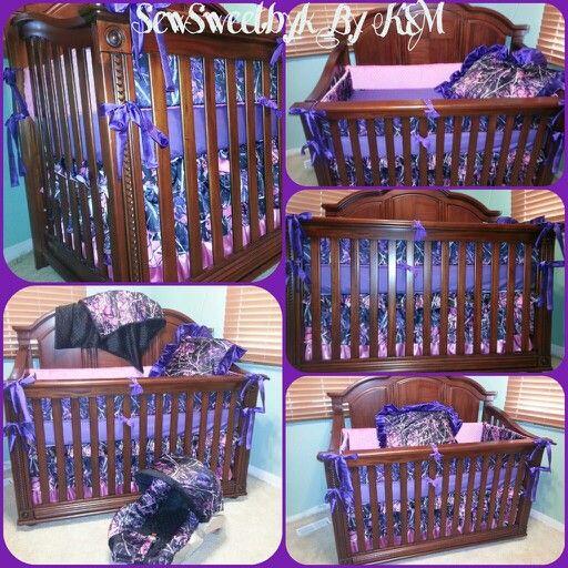 Camo nursery set baby camo pinterest camo nursery purple camo