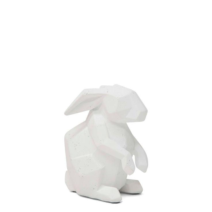 White Geo Rabbit Small