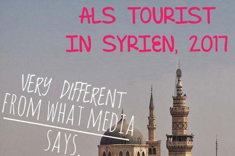 Syrien 2017: Ein Traumurlaub in Damaskus!   Die öffentlich rechtlichen Medien zeichnen ein Bild von Syrien, das nicht zutrifft. Ein junger Mann aus Norwegen hat im Oktober 2017 Urlaub gemacht – in Damaskus, der Hauptstadt von Syrien. Wo ist der Krieg, fragt man sich … War überhaupt ein Journalist in den letzten Jahren persönlich hier?