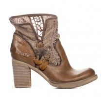 Boots femme - Beige - BUNKER