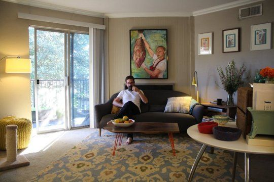 Lacy & Ed's Modern, Whimsical 700 Square Foot Austin Apartment — House Call | Apartment Therapy