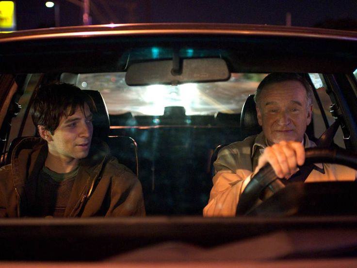 "In ""Boulevard,"" a middle-aged married man picks up a gay hustler on the…"