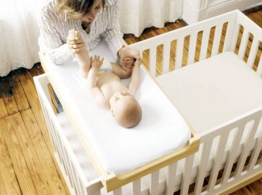 When you're making room for a new baby, it's helpful to know where to shop for small-scale nursery furniture, especially if you live in a city apartment. Here a