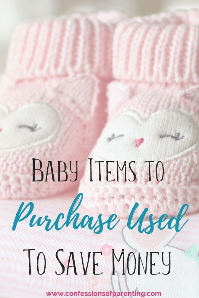 aeba76aaec24 Baby Things To Buy Used To Save Massive Amounts Of Money