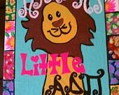 Logo/Sorority Canvas Paintings. $15.00, via Etsy.