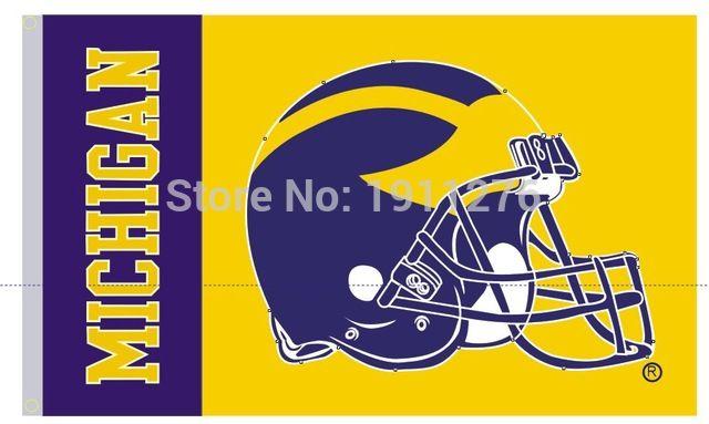 University of Michigan Flag flag 3ft x 5ft Polyester Banner Flyi http://www.annaflag.com/university-of-michigan-flag-flag-3ft-x-5ft-polyester-banner-flyi-p-10041.html