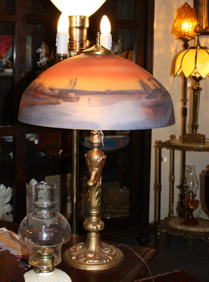 248 Best Images About Antique Lamps On Pinterest Tiffany