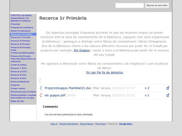 Propostes didàctiques per a ensenyar als alumnes a cercar informació dins la Mediateca. Pilar Jarque. Escola Pia de Granollers.