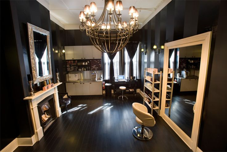 Yes, I can have my own private beauty salon in my home...
