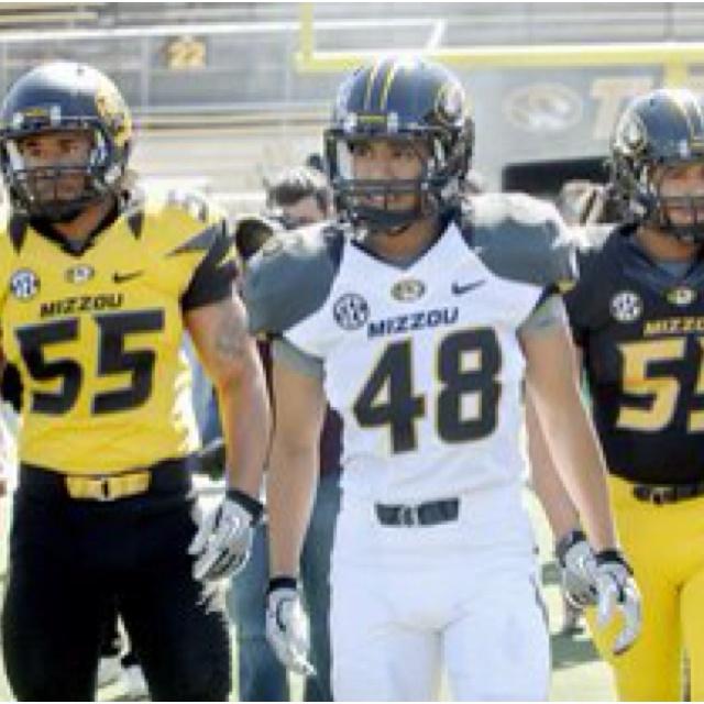 Missouri Tigers new football uniforms