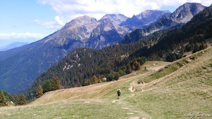 itinéraire randonnée chamrousse Mountain , hiking in Chamrousse, France. Nature. Randonnée en montagne à Chamrousse. Near Grenoble.