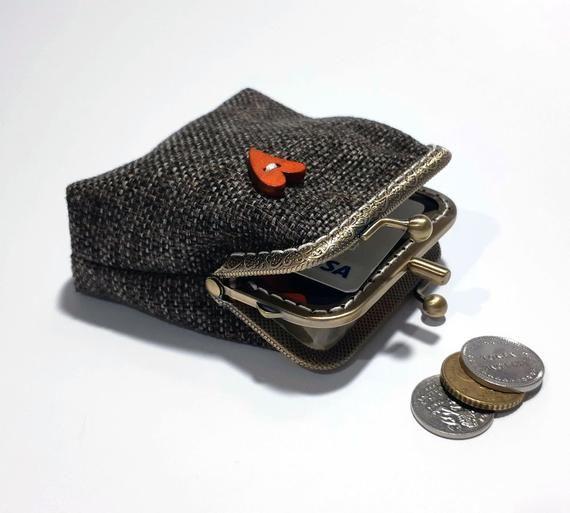 Kid Cudi Coin Purse Pouch Kiss-lock Change Purse Wallets