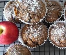 Pink Lady Apple and dark chocolate chips muffins | Official Thermomix Recipe Community