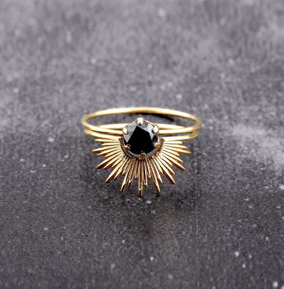 Beautiful ring by Sarah and Sebastian - Don't be tricked when buying fine jewelry! Follow the vital rules at http://jewelrytipsnow.com/a-simple-guide-to-purchasing-fine-jewelry/