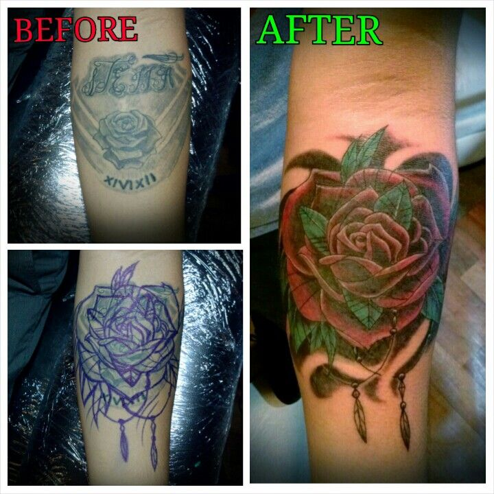 16 Best Tattoo Fixer Ideas Images On Pinterest: Best 31 Coverup/fixer Upper Tattoos By Marz Ideas On