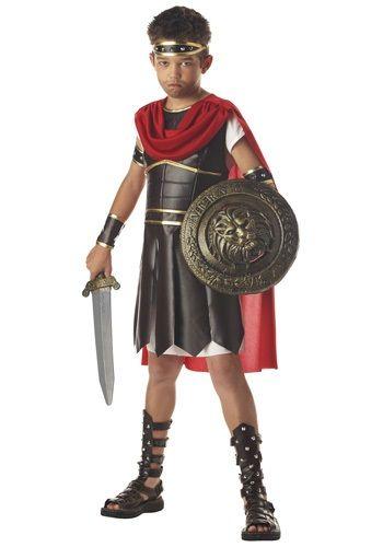 kids hercules costume boys roman warrior costumes for halloween - Halloween Children Costumes