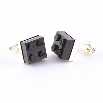My dream guy would think these are awesome...Lego Cufflinks Black / QA
