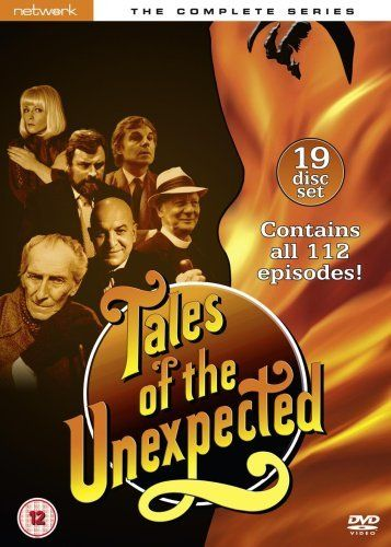 Tales of the Unexpected – Complete Series – 19-DVD Box Set ( Roald Dahl's Tales of the Unexpected ) [ NON-USA FORMAT, PAL, Reg.2 Import – United Kingdom ]  http://www.videoonlinestore.com/tales-of-the-unexpected-complete-series-19-dvd-box-set-roald-dahls-tales-of-the-unexpected-non-usa-format-pal-reg-2-import-united-kingdom/