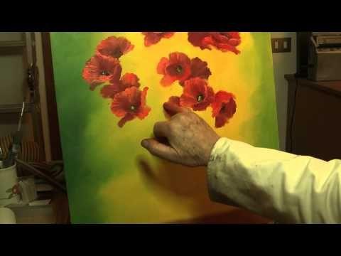 DIPINGERE FIORI CON LE DITA DI JGOR SAHAROV - YouTube