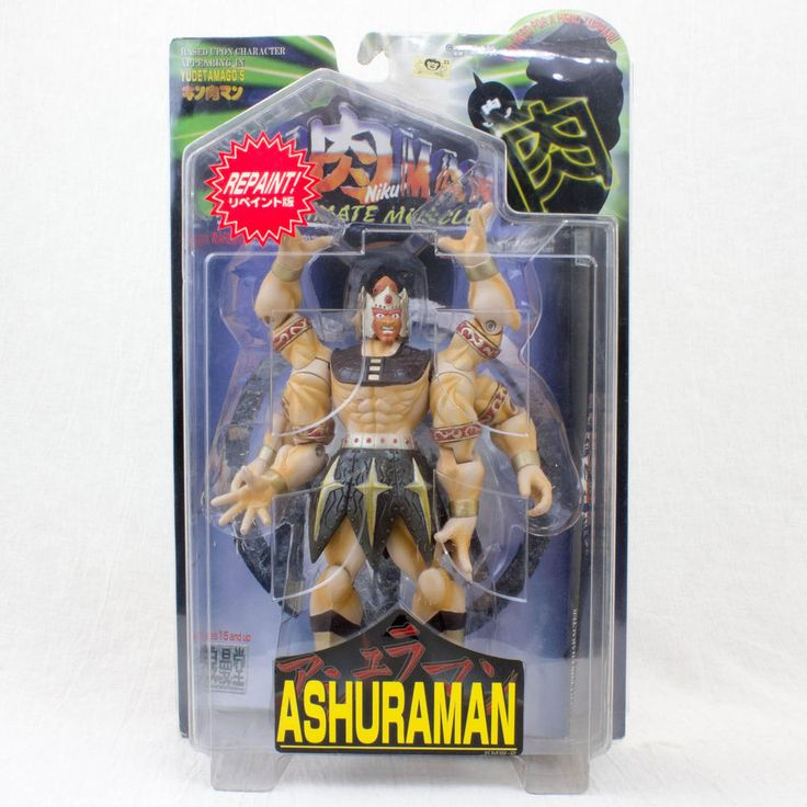 KINNIKUMAN ASHRA MAN Romando PVC Action Figure JAPAN ANIME MANGA JUMP MUSCLE MAN