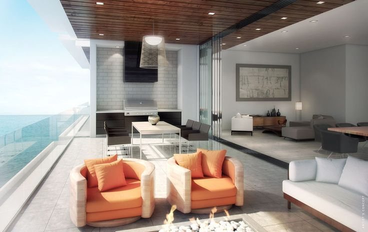 Seamless indoor-outdoor transition at One88