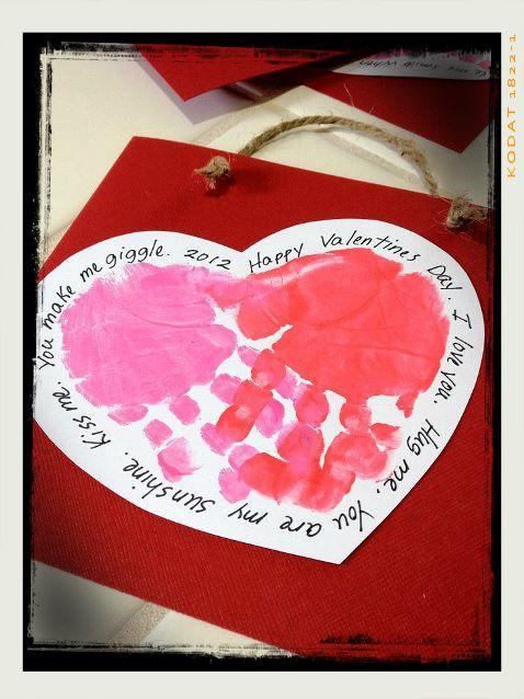 Soy Preescolar: #Ideas para #Febrero Qué tal unas lindas bolsas para guardar…