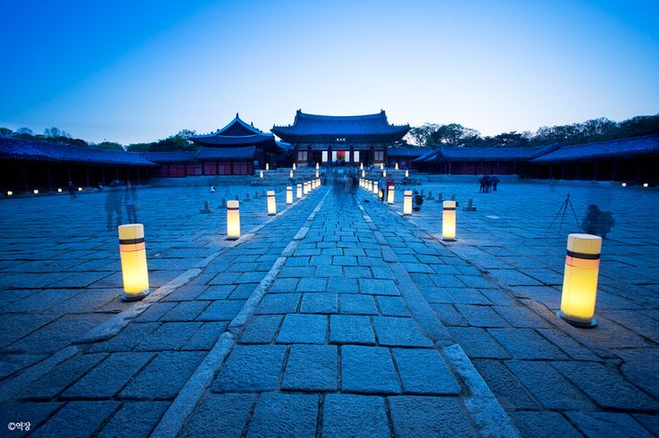 Changdeokgung Palace in Seoul, South Korea by Henry Moon.