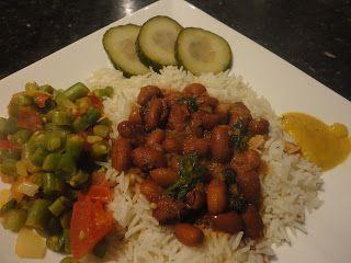 Kook je vegetarisch met mij mee?: BBR ofwel, Surinaamse Bruine Bonen met Rijst.