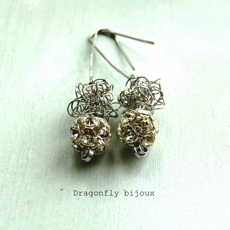 vintage handmade earrings