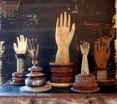 handsDecor, Gloves Moldings, Folk Art, Display, Things, Collection, Seth Apter, Gloves Form, Vintage Hands