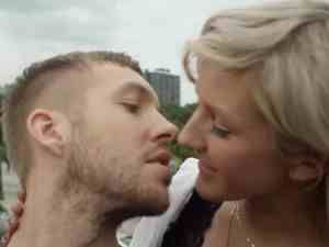 Calvin Harris & Ellie Goulding filming for 'I need your love' My summer song this year ❤