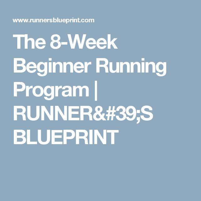 The 8-Week Beginner Running Program | RUNNER'S BLUEPRINT