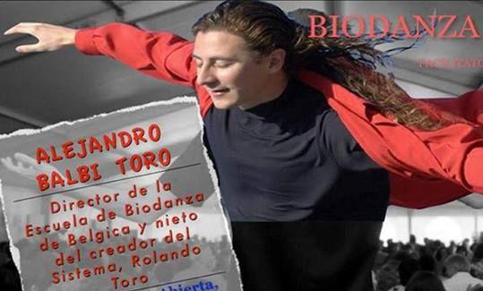 Alejandro Toro geeft een Biodanza weekend in De Balzaal in Gouda van 9 t/m 11 oktober 2015