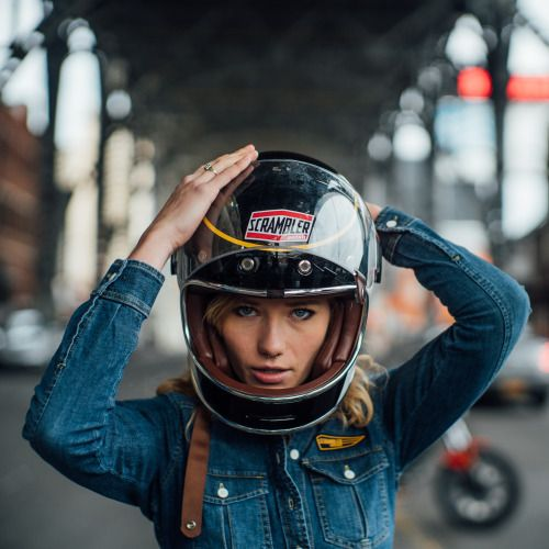 scramblerducati: All eyes on me. New York wandering with Dave...
