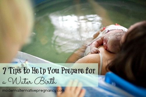 7 Tips to Help You Prepare for a Water Birth | Modern Alternative Pregnancy